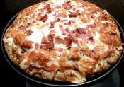 Turkey Club Pizza