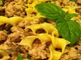 Turkey Stroganoff - Thanksgiving On A Plate