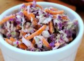 Two Cabbage Cole Slaw