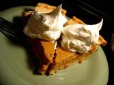 Microwaved Pumpkin Pie
