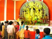 Durga-puja Celebrations At Delhi