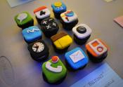Iphone Cupcakes - Too Yummy To Talk