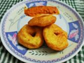 South Indian Breakfast - Medu Vada