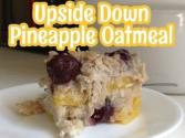 Upside Down Pineapple Oatmeal (slow Cooker)