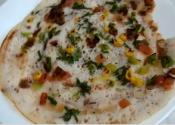 Uttapam-rice Crepes With Vegetables