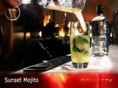 Maribel's Sunset Mojito