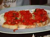 Bruschetta, Tomato Toasts