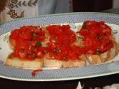 Bruschetta, Tomato Toasts