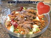 Valentine's Day Special Strawberry Steak Salad