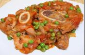 Veal Shanks With Olives