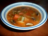 Vegetable Soup Using Chicken  Broth