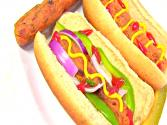 Vegetarian Hot Dog - Vegan &amp; Gluten-free