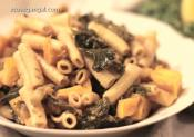 Vegan Baked Pasta With Butternut Squash And Kale