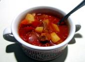 Tomato Vegetable Beef Soup