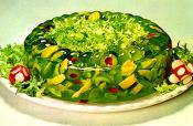 Jellied Vegetable Salad