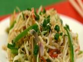 Vegetables And Noodles In A Creamy Sauce By Tarla Dalal