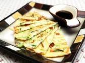 Korean Food: Vegetable Pancake