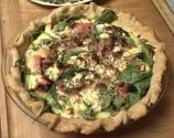 Crabmeat Vegetable Quiche