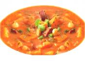 Vegetable Soup With Smoked Sausages