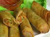 Crispy Vegetable Spring Rolls