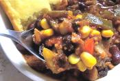 Vegetarian Chili Recipe: Soulful &amp; Full Of Flavor