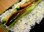Vegetarian Sushi Roll Part 1  - Preparation