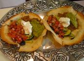Mexican Veggie Tostadas