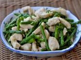 Wok Wednesdays - Velvet Chicken With Asparagus
