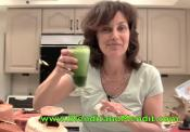 Green Vegetable Blended Vegan Anti Aging Smoothie