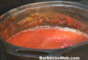 Barbecue Sauce With Vodka And Ketchup