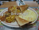 The Breakfast At Waffle House