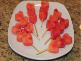 Watermelon Heart Kabobs