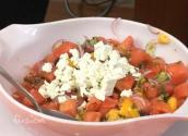 Summer Watermelon Tomato Salad