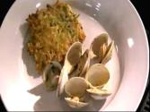 Wegmans Classic Steamed Clams With Zucchini &amp; Corn Cakes 