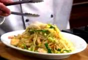 Curried Singapore Rice Noodles With Shrimps