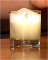 Whiskey Sour With Egg Whites