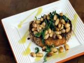 White Bean And Basil Bruschetta