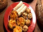 Assorted White Bread Party Appetizers