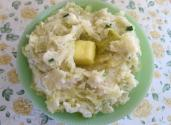 Wild Alaska Salmon Colcannon With Lemon And Chive Butter