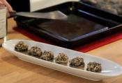 Wild Rice Stuffed Mushroom Caps