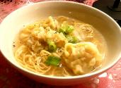 Won Ton Noodle Soup