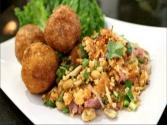 Yum Naem Kao Tod - Rice & Sausage Salad - Hot Thai Kitchen