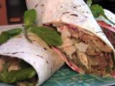 Yummy Thanksgiving Leftovers Wrap