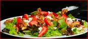 Z Pizza - Part 4 (mixed Greens Salad With Goat Cheese, Strawberries And Candied Walnuts)