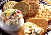 Zesty Seafood Vegetable Spread