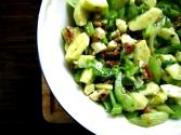 Zucchini  Celery And Apple Salad