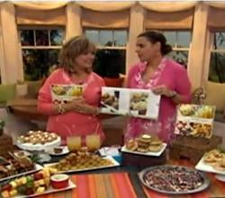 101 Easy Entertaining Recipes Cookbook on QVC