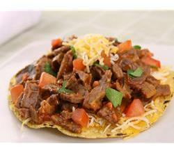 Buffalo Steak Tostada