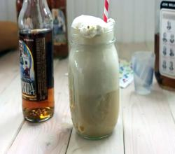Bourbon and Butternut Squash Ice Cream Float