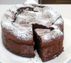 Dark Chocolate Raisin Cake
